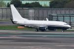 Timothyさんが、成田国際空港で撮影したアメリカ企業所有 737-7JR BBJの航空フォト(写真)