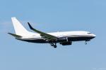 ぱん_くまさんが、成田国際空港で撮影したアメリカ企業所有 737-7JR BBJの航空フォト(写真)