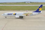 md11jbirdさんが、神戸空港で撮影したスカイマーク 737-86Nの航空フォト(写真)