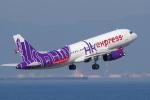 yabyanさんが、中部国際空港で撮影した香港エクスプレス A320-232の航空フォト(飛行機 写真・画像)