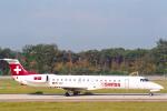 菊池 正人さんが、ジュネーヴ・コアントラン国際空港で撮影したスイスインターナショナルエアラインズ ERJ-145LUの航空フォト(写真)