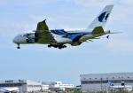 mojioさんが、成田国際空港で撮影したマレーシア航空 A380-841の航空フォト(写真)
