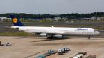 ぱん_くまさんが、成田国際空港で撮影したルフトハンザドイツ航空 A340-313Xの航空フォト(写真)