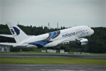 nishikiさんが、成田国際空港で撮影したマレーシア航空 A380-841の航空フォト(写真)