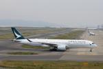 徳兵衛さんが、関西国際空港で撮影したキャセイパシフィック航空 A350-941XWBの航空フォト(写真)