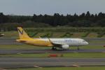 しかばねさんが、成田国際空港で撮影したバニラエア A320-214の航空フォト(写真)