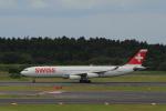 しかばねさんが、成田国際空港で撮影したスイスインターナショナルエアラインズ A340-313Xの航空フォト(写真)