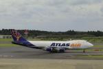 しかばねさんが、成田国際空港で撮影したアトラス航空 747-47UF/SCDの航空フォト(写真)