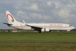たみぃさんが、アムステルダム・スキポール国際空港で撮影したロイヤル・エア・モロッコ 737-8B6の航空フォト(写真)