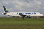 たみぃさんが、アムステルダム・スキポール国際空港で撮影したヌーべルエア・チュニジア A320-214の航空フォト(写真)