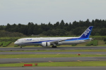しかばねさんが、成田国際空港で撮影した全日空 787-9の航空フォト(写真)