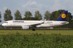 たみぃさんが、アムステルダム・スキポール国際空港で撮影したルフトハンザドイツ航空 A320-271Nの航空フォト(写真)
