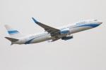 たみぃさんが、ロンドン・ガトウィック空港で撮影したエンターエア 737-8CXの航空フォト(写真)