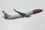 たみぃさんが、ロンドン・ガトウィック空港で撮影したノルウェー・エア・インターナショナル 737-8JPの航空フォト(写真)