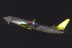 いっち〜@RJFMさんが、宮崎空港で撮影したソラシド エア 737-86Nの航空フォト(写真)