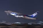 いっち〜@RJFMさんが、宮崎空港で撮影したANAウイングス 737-54Kの航空フォト(写真)