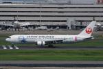 神宮寺ももさんが、羽田空港で撮影した日本航空 767-346/ERの航空フォト(写真)