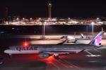 こむぎさんが、羽田空港で撮影したカタール航空 A350-941XWBの航空フォト(写真)