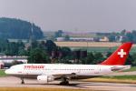 菊池 正人さんが、チューリッヒ空港で撮影したスイス航空 A310-322の航空フォト(写真)
