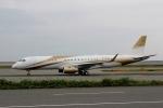 ハピネスさんが、関西国際空港で撮影したMGMミラージュ ERJ-190-100 ECJ (Lineage 1000)の航空フォト(写真)