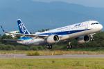 pinamaさんが、小松空港で撮影した全日空 A321-272Nの航空フォト(写真)