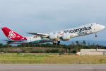 pinamaさんが、小松空港で撮影したカーゴルクス 747-8R7F/SCDの航空フォト(写真)