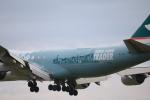 msrwさんが、成田国際空港で撮影したキャセイパシフィック航空 747-867F/SCDの航空フォト(写真)