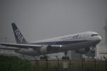 クリューさんが、鹿児島空港で撮影した全日空 767-381の航空フォト(写真)