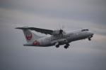 クリューさんが、鹿児島空港で撮影した日本エアコミューター ATR-42-600の航空フォト(写真)