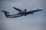 クリューさんが、鹿児島空港で撮影したANAウイングス DHC-8-402Q Dash 8の航空フォト(写真)