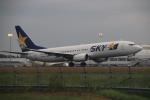 クリューさんが、鹿児島空港で撮影したスカイマーク 737-86Nの航空フォト(写真)