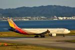 we love kixさんが、関西国際空港で撮影したアシアナ航空 A330-323Xの航空フォト(写真)