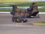ここはどこ?さんが、札幌飛行場で撮影した陸上自衛隊 CH-47Jの航空フォト(写真)