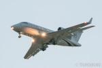 遠森一郎さんが、福岡空港で撮影したプライベート・エア・チャーター CL-600-2B16 Challenger 605の航空フォト(写真)