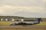 シャークレットさんが、新千歳空港で撮影したオーロラ DHC-8-402Q Dash 8の航空フォト(写真)
