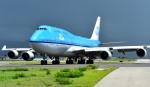 kamerajiijiさんが、プリンセス・ジュリアナ国際空港で撮影したKLMオランダ航空 747-406の航空フォト(写真)