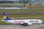 安芸あすかさんが、仙台空港で撮影したスカイマーク 737-86Nの航空フォト(写真)
