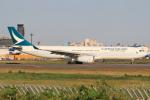 テクノジャンボさんが、成田国際空港で撮影したキャセイパシフィック航空 A330-343Xの航空フォト(写真)