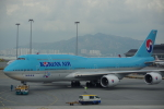 JA8037さんが、香港国際空港で撮影した大韓航空 747-8B5の航空フォト(写真)