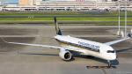 ぱん_くまさんが、羽田空港で撮影したシンガポール航空 A350-941XWBの航空フォト(写真)
