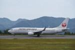 kumagorouさんが、広島空港で撮影した日本航空 737-846の航空フォト(写真)