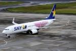 もぐ3さんが、仙台空港で撮影したスカイマーク 737-86Nの航空フォト(写真)