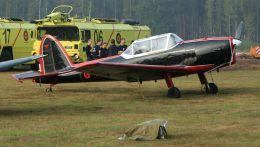 cathay451さんが、ベーフェルロ空軍基地で撮影したPrivate Owner DHC-1 Chipmunk T.10 (Mk 10)の航空フォト(飛行機 写真・画像)