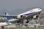 幹ポタさんが、福岡空港で撮影した全日空 777-281の航空フォト(写真)