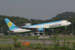 幹ポタさんが、福岡空港で撮影したウズベキスタン航空 767-33P/ERの航空フォト(写真)