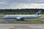 よしポンさんが、成田国際空港で撮影したエア・カナダ 787-9の航空フォト(写真)