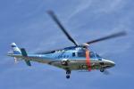 蒼い鳩さんが、山形空港で撮影した山形県警察 A109E Powerの航空フォト(写真)