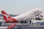ぬこさんが、シドニー国際空港で撮影したカンタス航空 747-438の航空フォト(写真)