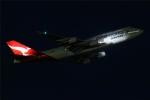 多摩川崎2Kさんが、羽田空港で撮影したカンタス航空 747-438/ERの航空フォト(写真)