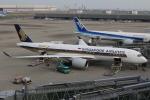 テクノジャンボさんが、羽田空港で撮影したシンガポール航空 A350-941XWBの航空フォト(写真)